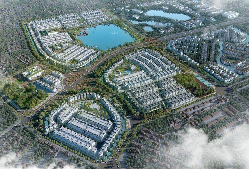 Image result for khu đô thị nghĩ dưỡng phối cảnh 3d